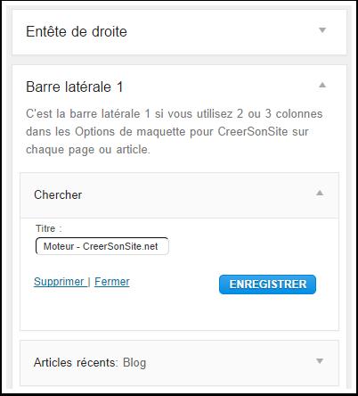 Ajouter un moteur de recherche