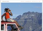 Template pour créer un site de voyage
