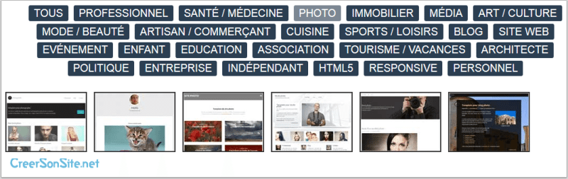 Comment créer un site photo