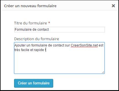 Comment cr er un formulaire de contact - Formulaire de contact ...