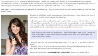 Exemple de site multilingue