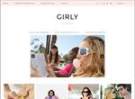 Template pour créer un site girly
