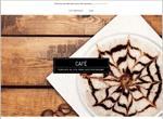 Template pour créer un site de café-restaurant