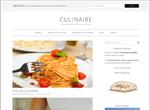 Template pour créer un blog culinaire