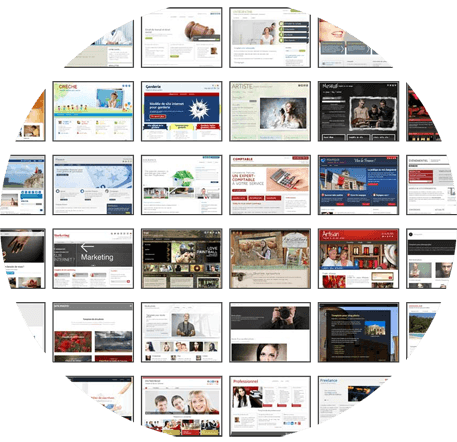 templates de site